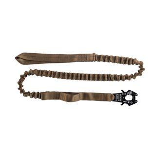 Flexible Operator Leash Coyote Brown