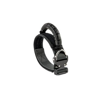 Working Dog Collar Rubbergrip Black G3 52cm-59cm