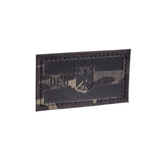 DEU Flagge IRR Patch Multicam Black