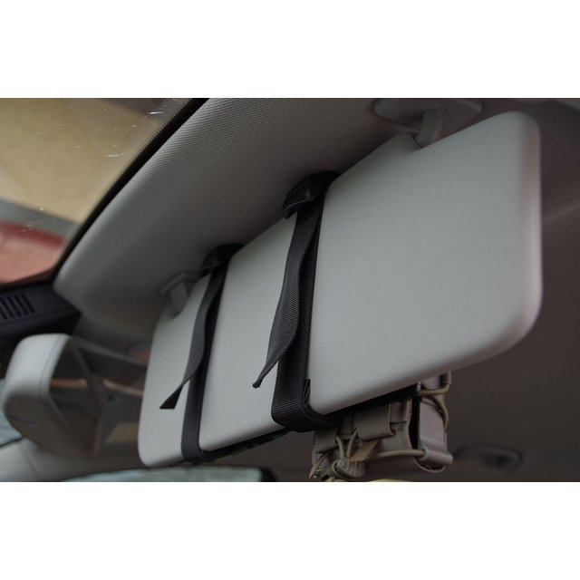 Modular vehicle panel MFP3/6 sun visor