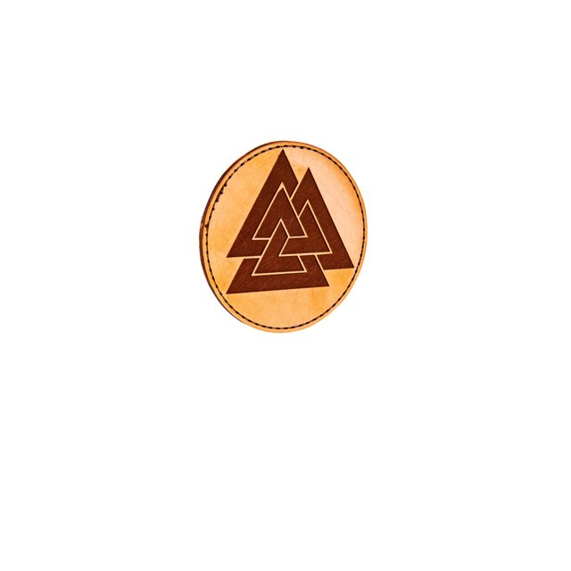 Valknut Leatherpatch