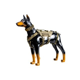 md-textil Working Dog Harness MGS