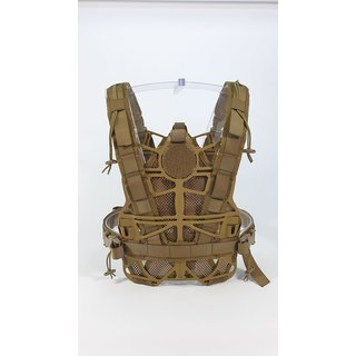 Kydex Frame Plate Carrier Multicurved Coyote Brown