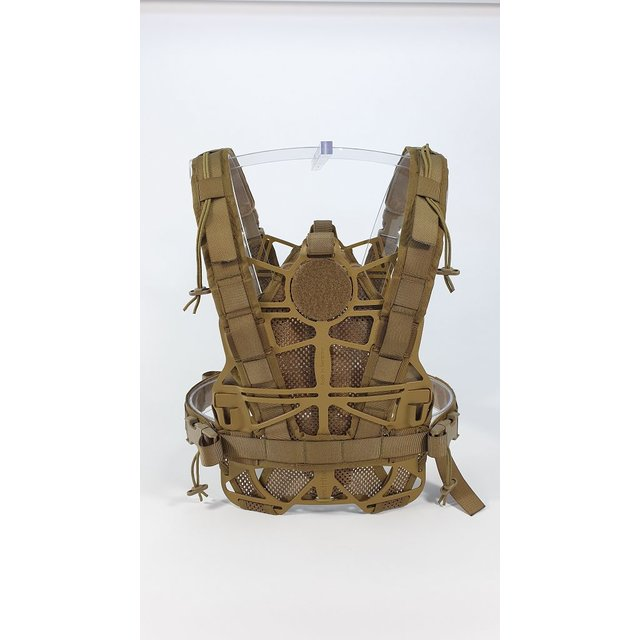 Kydex Frame Plate Carrier Singlecurved Coyote Brown