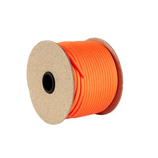 50m spool of parachute line neon orange