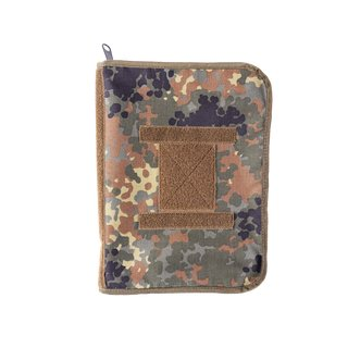 Data book DINA4 5 Farb Flecktarn